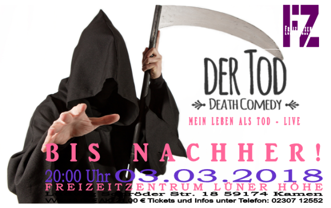 Der Tod live in Kamen