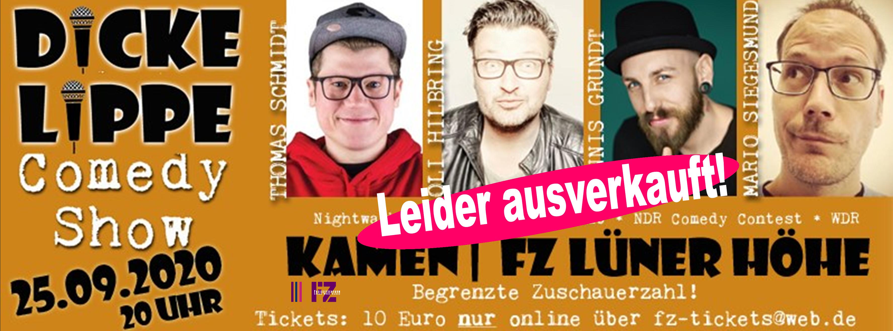 Header FZ Dicke Lippe ausverkauft