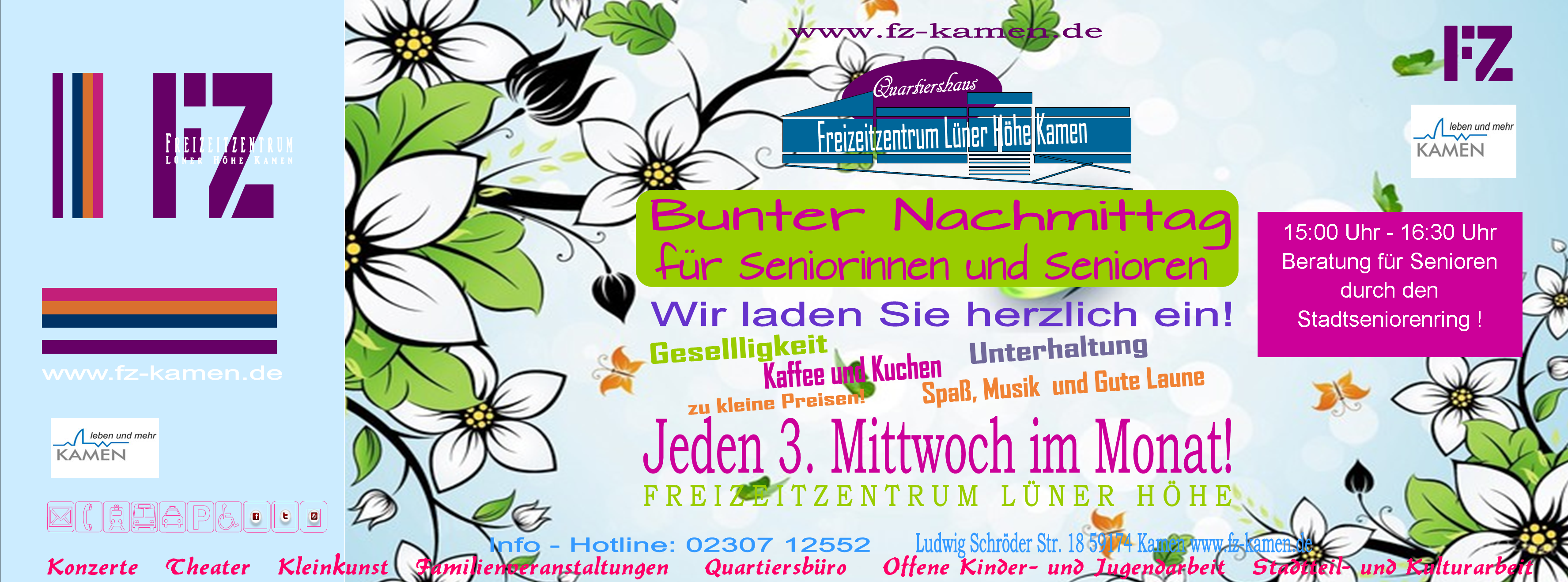 Header FZ Seniorennachmittag 2019 neu