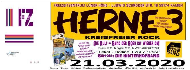 Herne 3 live in Kamen