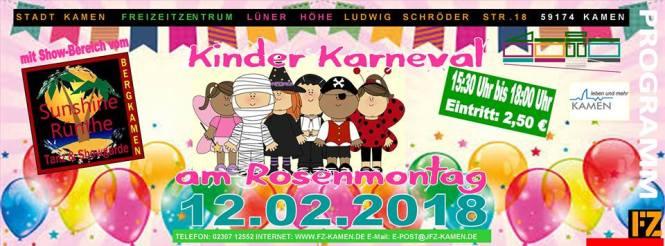 Kinderkarneval 2018