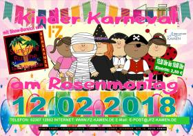 Plakat Kinderkarneval