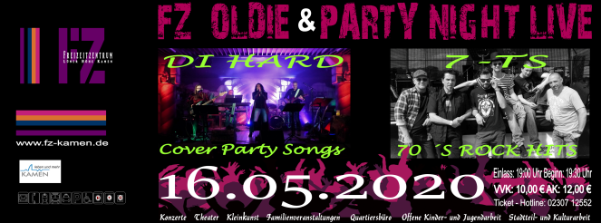 Oldie Party 2020 Header 1