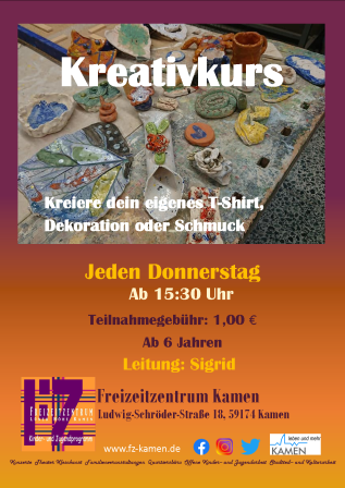 Flyer Kreativkurs
